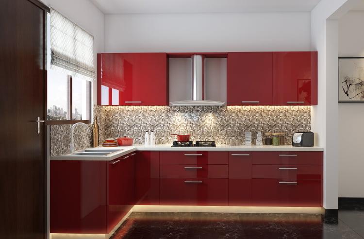 Tu bep arcylic 21 - 20+ mẫu tủ bếp Arcylic sang trọng khiến bạn không thể rời mắt