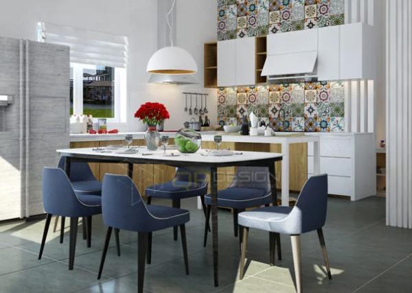 thiet ke tu bep biet thu pho 6 600x427 - Thiết kế tủ bếp cho biệt thự nhà bạn