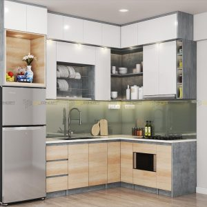 Tủ bếp chữ L BTL1024