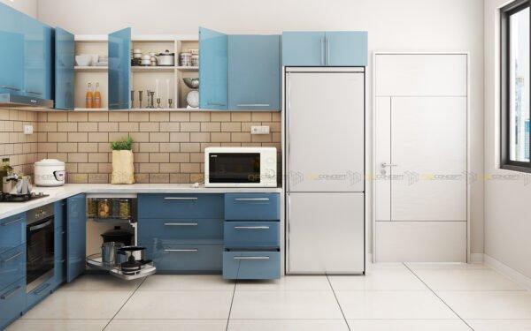 Tủ bếp chữ U BTU0007