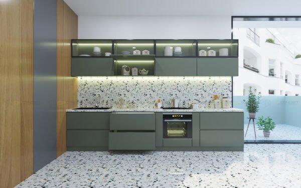 Tủ bếp chữ I TBI 0031