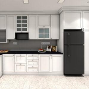 Tủ bếp chữ L - TBL 1027