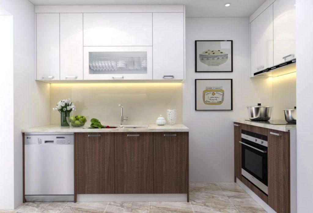 mau tu bep chung cu 12 1024x696 - 20+ mẫu bếp chung cư đẹp nhất 2020