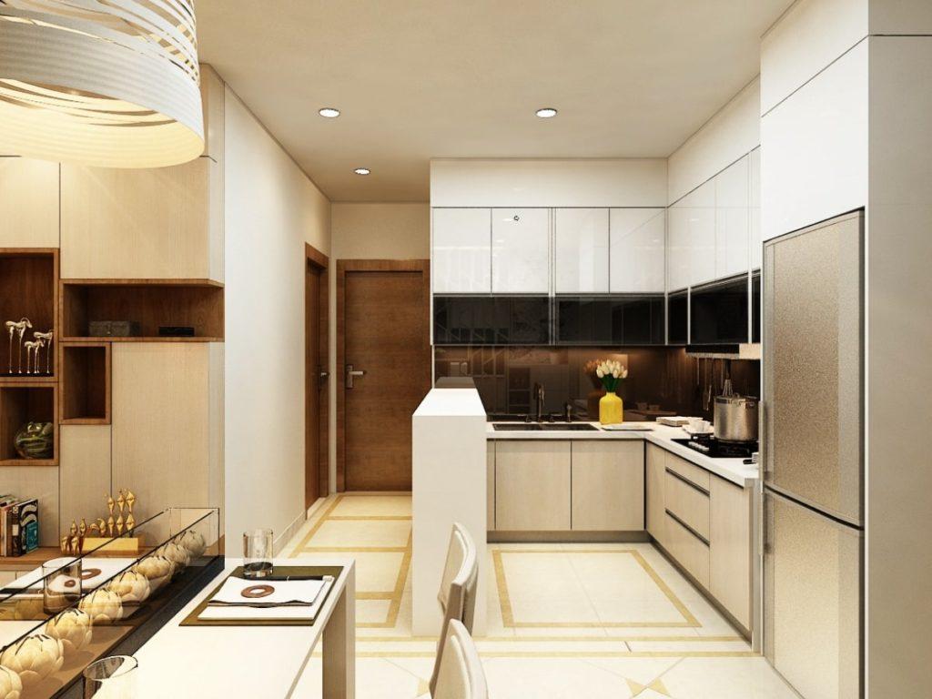 mau tu bep chung cu 13 1024x768 - 20+ mẫu bếp chung cư đẹp nhất 2020