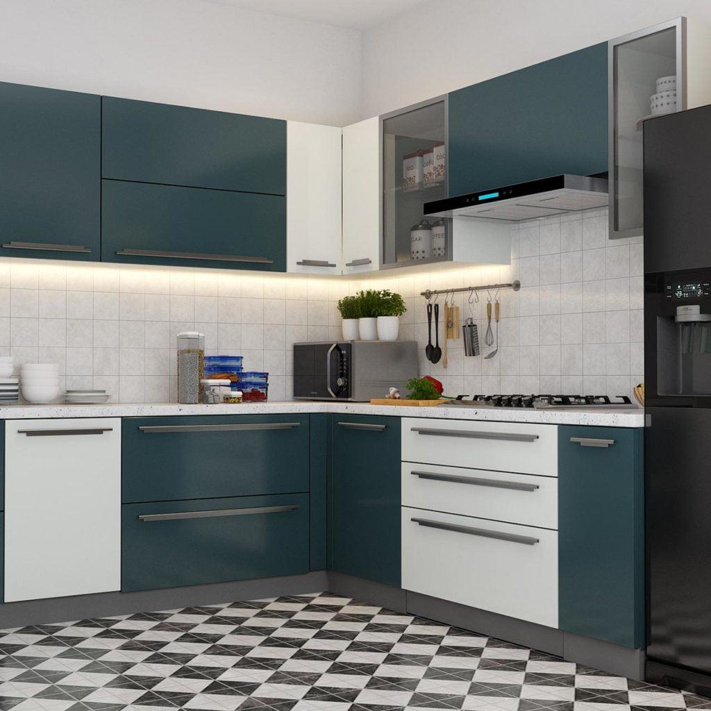 mau tu bep chung cu 17 1024x1024 - 20+ mẫu bếp chung cư đẹp nhất 2020