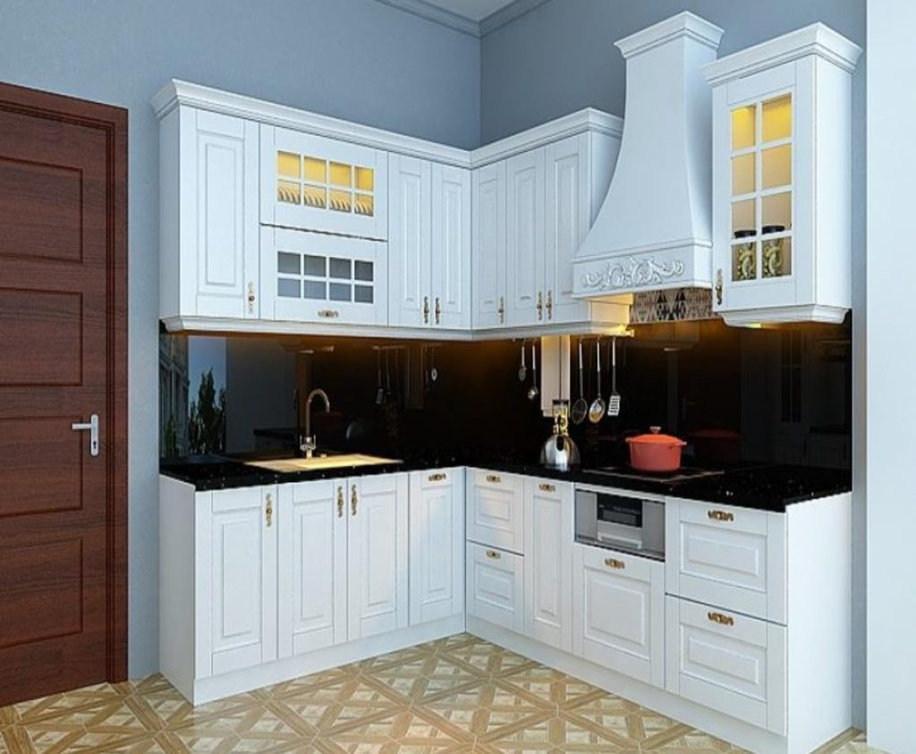 mau tu bep chung cu 20 1024x843 - 20+ mẫu bếp chung cư đẹp nhất 2020