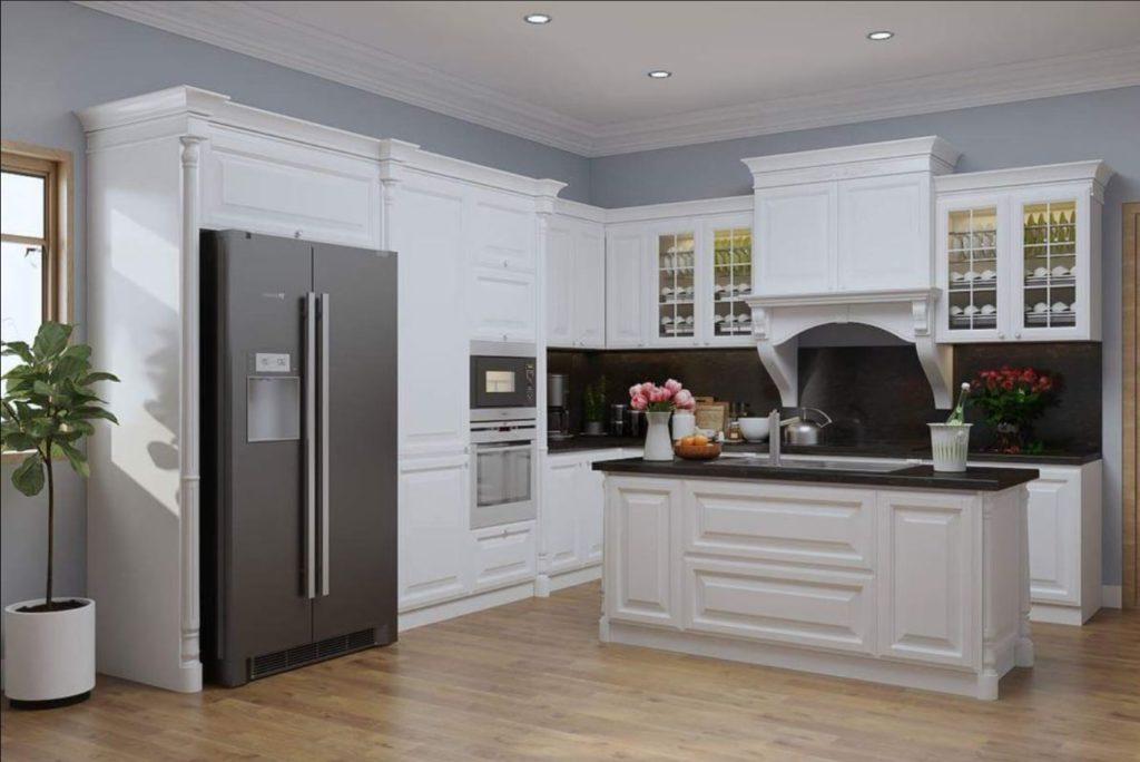 mau tu bep chung cu 6 1024x684 - 20+ mẫu bếp chung cư đẹp nhất 2020