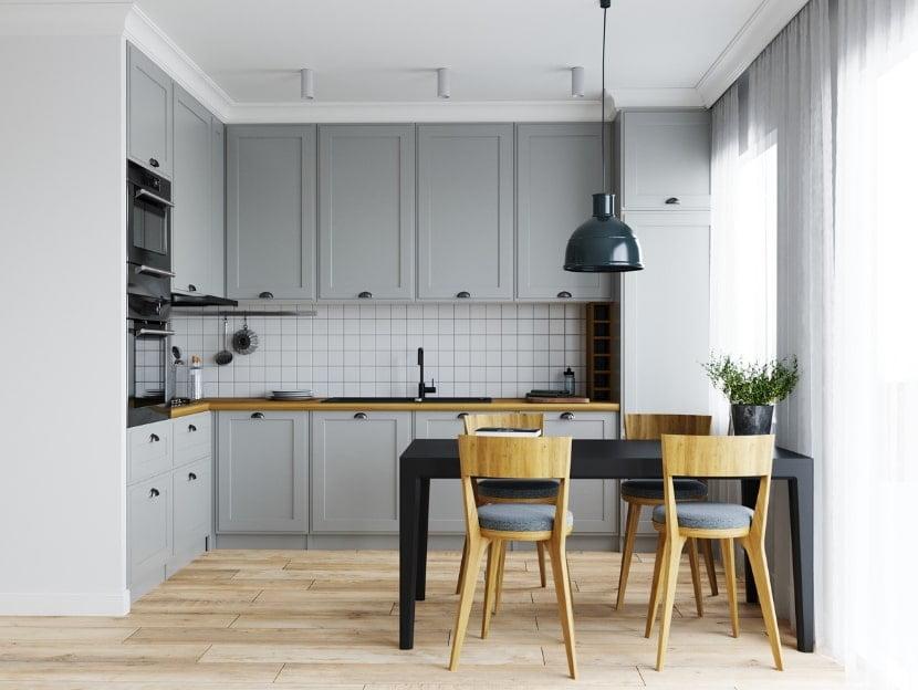 mau tu bep chung cu 7 - 20+ mẫu bếp chung cư đẹp nhất 2020
