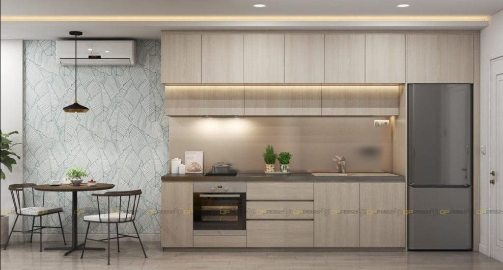 mau tu bep chung cu 9 - 20+ mẫu bếp chung cư đẹp nhất 2020