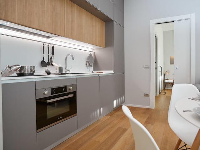 19 mau thiet ke tu bep phong cach toi gian dep nhat 2020 14 - 19 thiết kế tủ bếp tối giản cho không gian bếp nhỏ