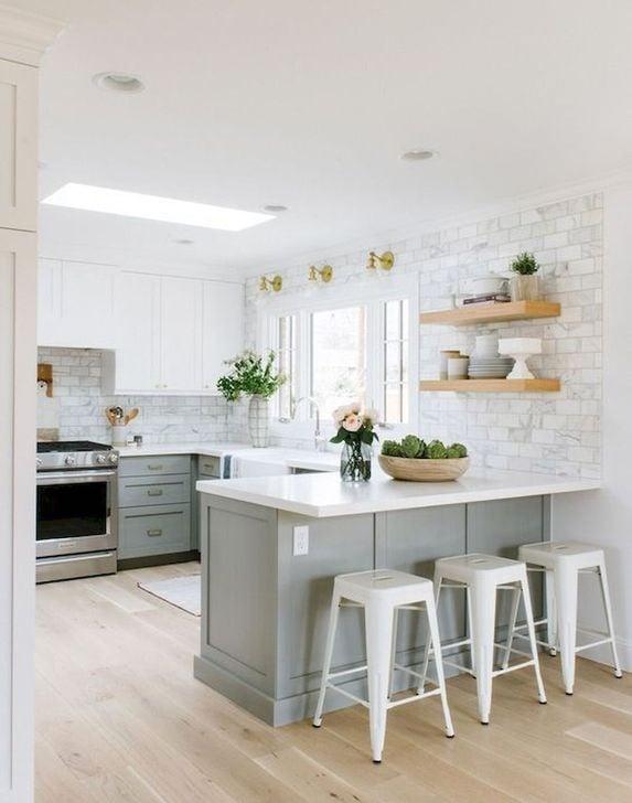 19 mau thiet ke tu bep phong cach toi gian dep nhat 2020 16 - 19 thiết kế tủ bếp tối giản cho không gian bếp nhỏ