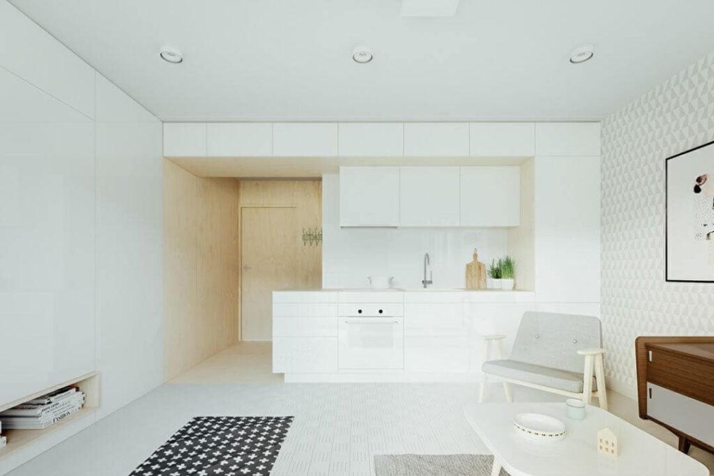 19 mau thiet ke tu bep phong cach toi gian dep nhat 2020 2 1024x683 - 19 thiết kế tủ bếp tối giản cho không gian bếp nhỏ