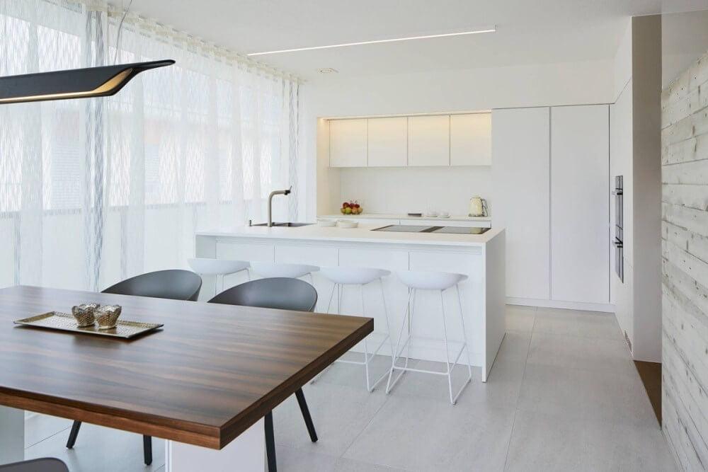 19 mau thiet ke tu bep phong cach toi gian dep nhat 2020 3 - 19 thiết kế tủ bếp tối giản cho không gian bếp nhỏ