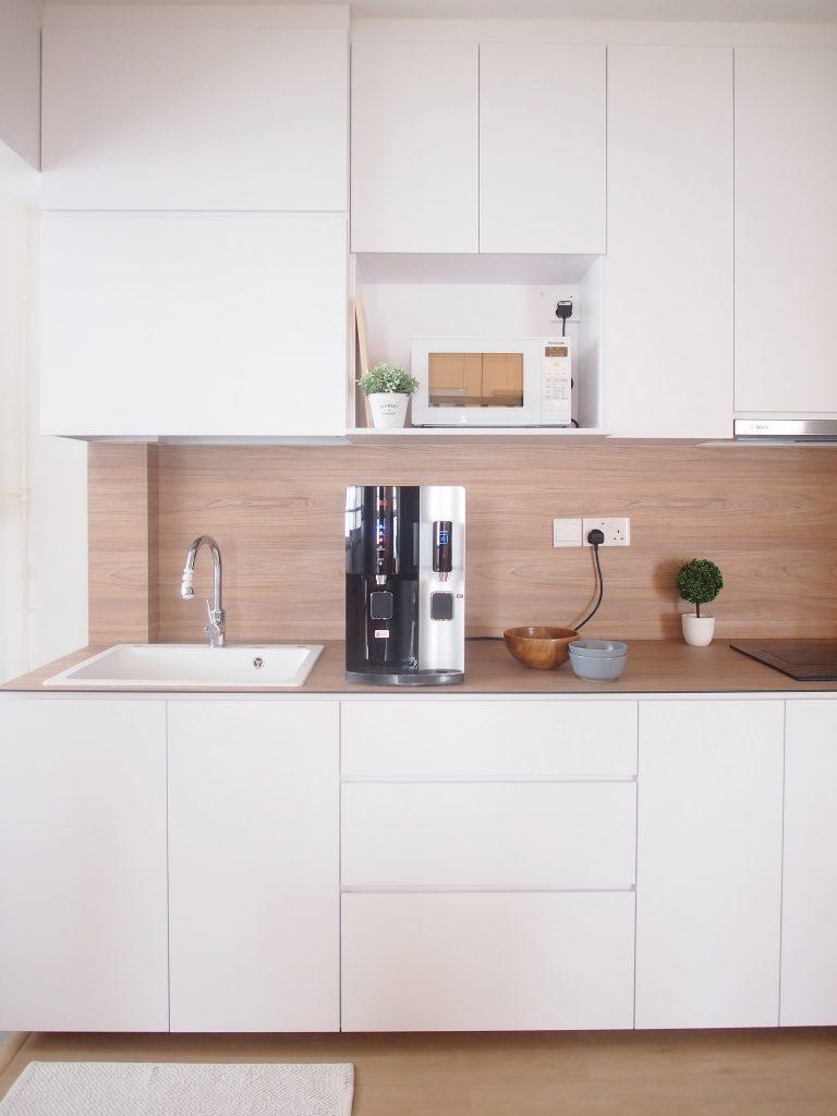 19 mau thiet ke tu bep phong cach toi gian dep nhat 2020 7 - 19 thiết kế tủ bếp tối giản cho không gian bếp nhỏ