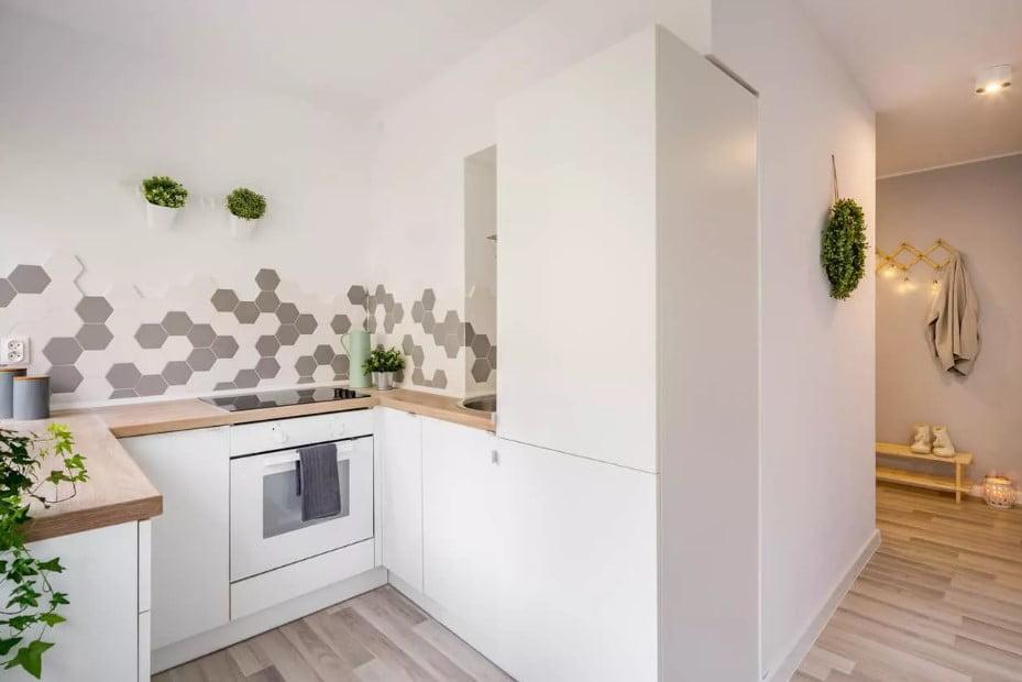 19 mau thiet ke tu bep phong cach toi gian dep nhat 2020 8 - 19 thiết kế tủ bếp tối giản cho không gian bếp nhỏ