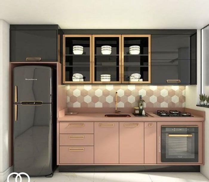 20 mau tu bep chu I sang trong thich hop cho nha nho 12 - 15+ mẫu tủ bếp chữ I sang trọng thích hợp cho nhà nhỏ
