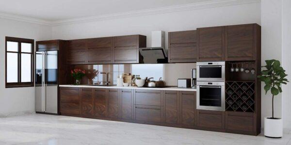 15+ mẫu tủ bếp chữ I sang trọng thích hợp cho nhà nhỏ