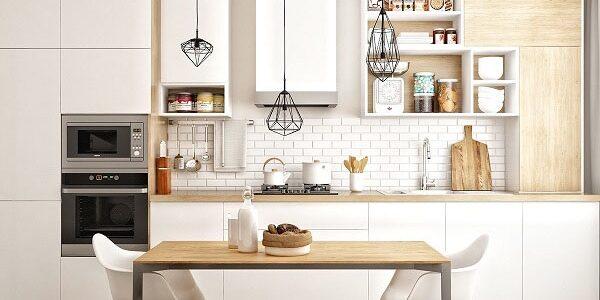 15 kiểu kệ tủ bếp đẹp tiện lợi nhìn là mê
